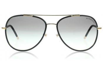 Lunettes de soleil Burberry BE3078J 114511 Light Gold/Matte Black - Noir