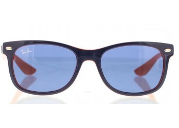 Lunettes de soleil Ray-Ban RJ9052S 178/80 Top Blue On Orange