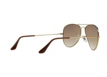 Lunettes de soleil Ray-Ban Aviator RB3025 9001A5 Shiny Light Bzonze