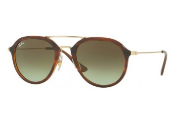 Lunettes de soleil Ray-Ban RB4253 820/A6 Stripped Havana | Revendeur Agréé Ray-Ban | product_reduce_price
