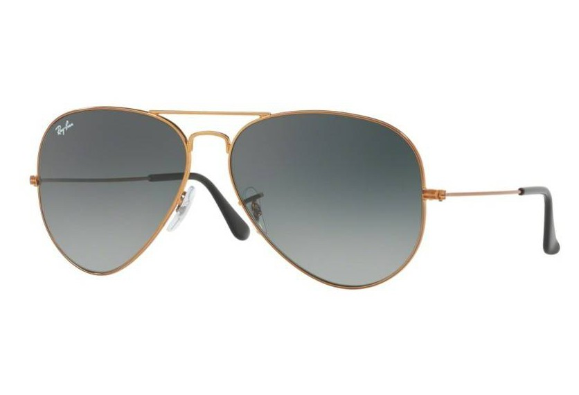 73b6463ef1 Lunettes de soleil Ray-Ban Aviator Large Metal 2 RB3026 197/71 Shiny Bronze