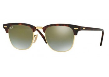 Lunettes de soleil Ray-Ban Clubmaster RB3016 990/9J Shiny Red/Havana | Revendeur Agréé Ray-Ban | product_reduce_price