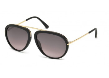 Lunettes de soleil homme Tom Ford Stacy FT0452 Noir | Revendeur Agréé Tom Ford | product_reduce_price