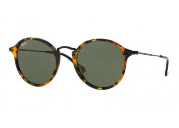 Lunettes de soleil Ray-Ban Round Fleck RB2447 1157 Ecaille | Revendeur Agréé Ray-Ban | product_reduce_price