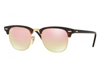 Lunettes de soleil Ray-Ban Clubmaster RB3016 990/70 Ecaille | Revendeur Agréé Ray-Ban | product_reduce_price