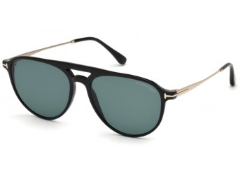 Lunettes de soleil Tom Ford FT0587 01V Carlo 02 Noir Brillant | Revendeur Agréé Tom Ford | product_reduce_price