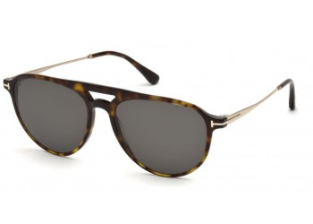 Lunettes de soleil Tom Ford FT0587 52A Carlo 02 Ecaille | Revendeur Agréé Tom Ford | product_reduce_price